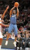 图文:[NBA]奇才负尼克斯 阿里纳斯跳投