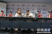 图文:勒芒洲际赛珠海站正赛 车手接受采访