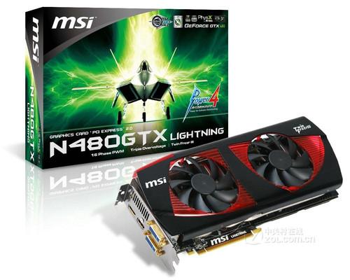 16项供电支撑 微星N480GTX闪电发布