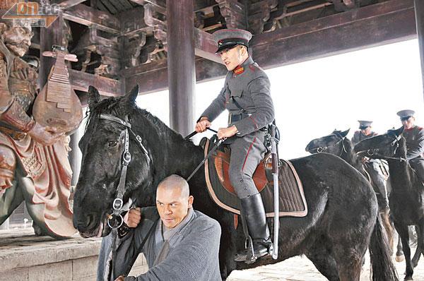 谢霆锋为拍《新少林寺》,弄得遍体鳞伤