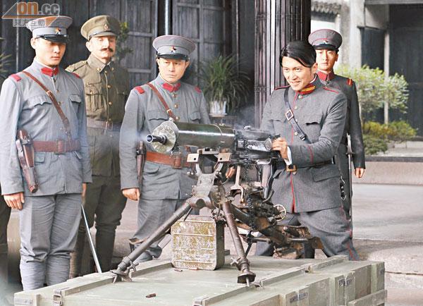 谢霆锋初演反派,算是一次演技考验