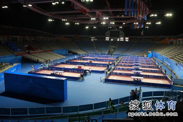 单项:亚运乒乓球抽签现场五名称种子排位确定足球鞋组图图片