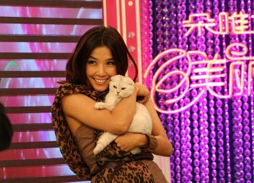 王蓉和猫咪