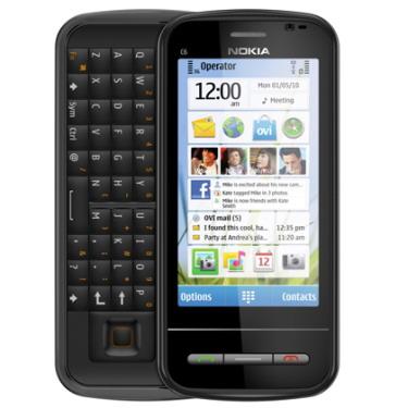 诺基亚c6-01正式上市 为首款悦幕屏显技术手机图片