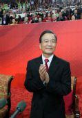 图文:国务院总理温家宝宣布广州亚运会开幕