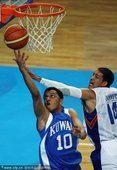 图文:亚运会男篮比赛 菲律宾76-69科威特(1)