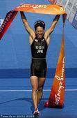 图文:男子铁人三项 日本选手细田雄一夺冠