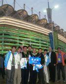 图文:广州亚运会开幕 高尔夫项目国际官员合影