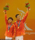 亚运体育舞蹈恰恰舞 中国选手石磊/张白羽夺冠