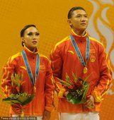 亚运体育舞蹈牛仔舞 中国选手范文博陈世瑶夺冠