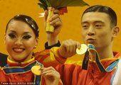 亚运体育舞蹈标准5项舞 中选手杨超/谭轶凌夺冠