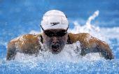 图文:女子200米蝶泳焦刘洋夺冠 全力划水前进