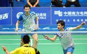 图文:亚运羽毛球男团比赛  韩国队摘银