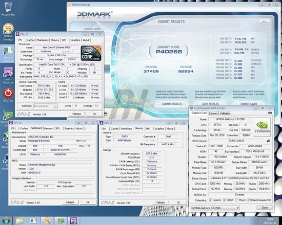 GTX 580突破单GPU 3DMark世界纪录