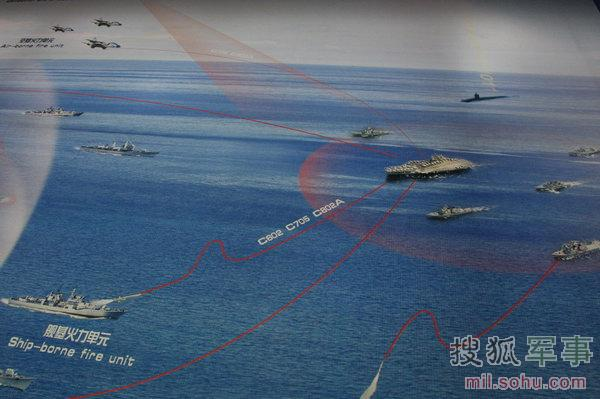 中国反航母三剑客亮相珠海 目标重型航母