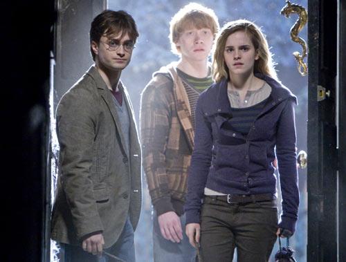 三个小魔法师历经磨难,赫敏与罗恩都受了伤