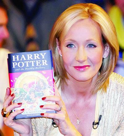 罗琳还会继续将哈利波特的故事写下去