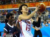 图文:广州亚运会女篮小组赛:中国VS印度