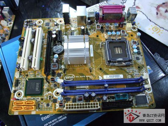 公的首选 两款Intel原厂G41主板到货图片