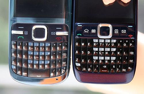 QWERTY全键盘手机 湖南诺基亚C3仅965滚动频道