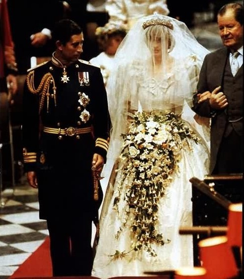 戴安娜王妃世纪婚礼回顾