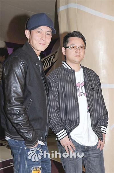 陈冠希与DJ Tommy大方合照