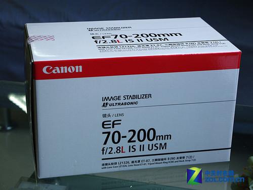 佳能变焦镜皇 70-200mm F2.8L IS II上市