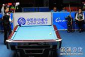 图文:女子美式九球潘晓婷夺冠 获胜的一刻
