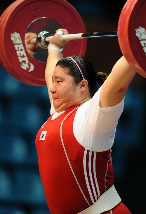 图文:举起v图文75kg以上张美兰奋力体育杠铃-搜狐围棋alpha女子图片