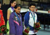 图文:跆拳道女子73公斤以下级 铜牌获得者