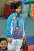 图文:跆拳道女子73公斤以下级 费鲁扎摘银