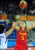 图文:广州亚运会女篮预赛A组:中国VS泰国