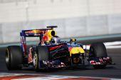 图文:F1车队测试倍耐力轮胎 维特尔准备入弯