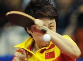 图文:亚运乒球女子单打 郭跃获得女单亚军