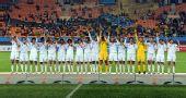 图文:女足颁奖仪式 日本队在颁奖仪式上