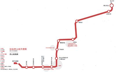 北京地铁房山线_地铁开通房山线 房山进入北京\