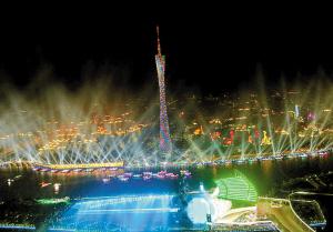 亚运会闭幕式将在海心沙举行。