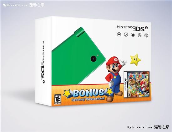 任天堂宣布橘黄、绿色款DSi掌机