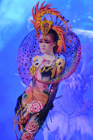 2010中国国际美容美发化妆师全能大赛图片图片