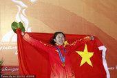 图文:现代五项女子个人 中国选手苗禕骅夺冠