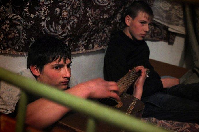 真实记录俄罗斯年轻人的技校生活(组图)图片