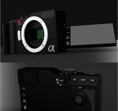 谍照再现 传闻索尼NEX-7明年春季发布?