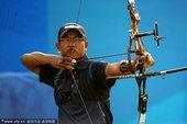 图文:男子射箭决赛 印度选手塔伦迪普-拉伊