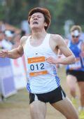 图文:现代五项男团韩国夺冠 郑煊浩奋力冲刺