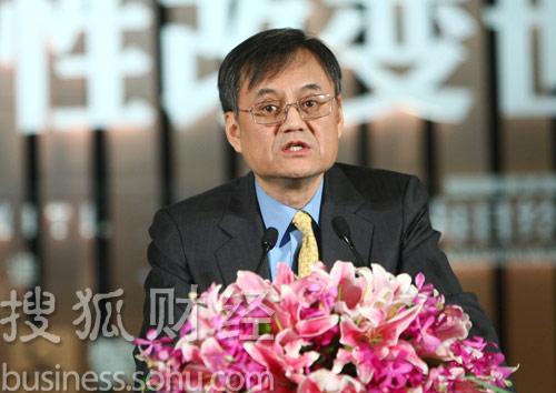 清华大学经济管理学院院长钱颖一 (唐怡民摄)