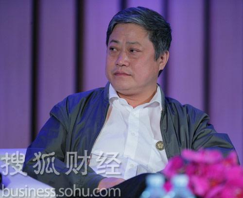 恒源祥集团董事长刘瑞旗 (杨丹摄)