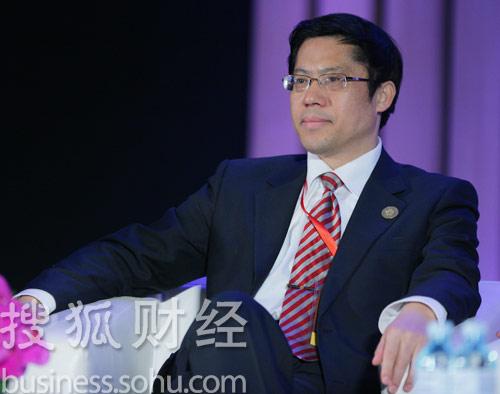 北京住总集团董事长张贵林 (刘丹摄)
