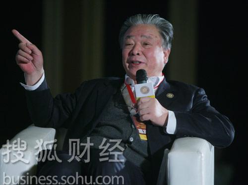 中华民营企业联合会会长保育钧 (刘丹摄)