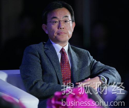新闻集团副总裁、星空传媒(中国)CEO高群耀  (刘丹摄)