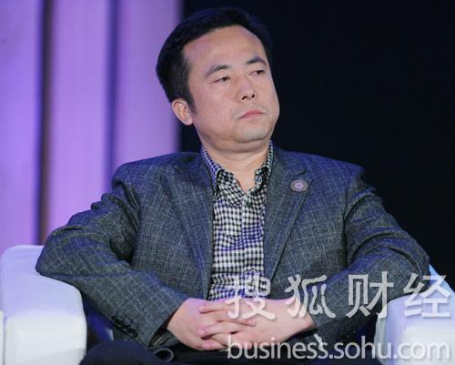 央视《公司的力量》总导演任学安 (刘丹摄)